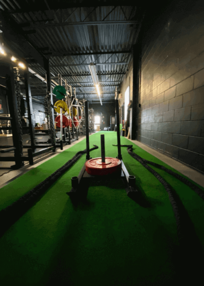 Cornell Performance Academy - Our Facility - Ropes and Sled
